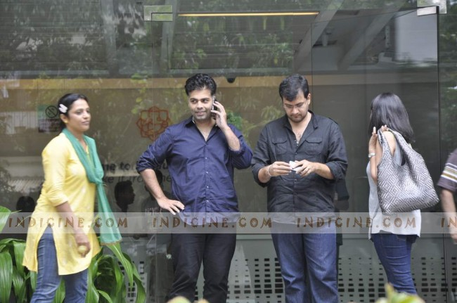 Karan Johar visits Hrithik Roshan post his surgery at Hinduja Hospital