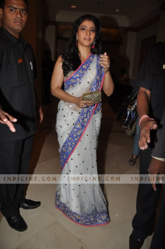Kajol at Manish Malhotra's Lilavati Girl Child show