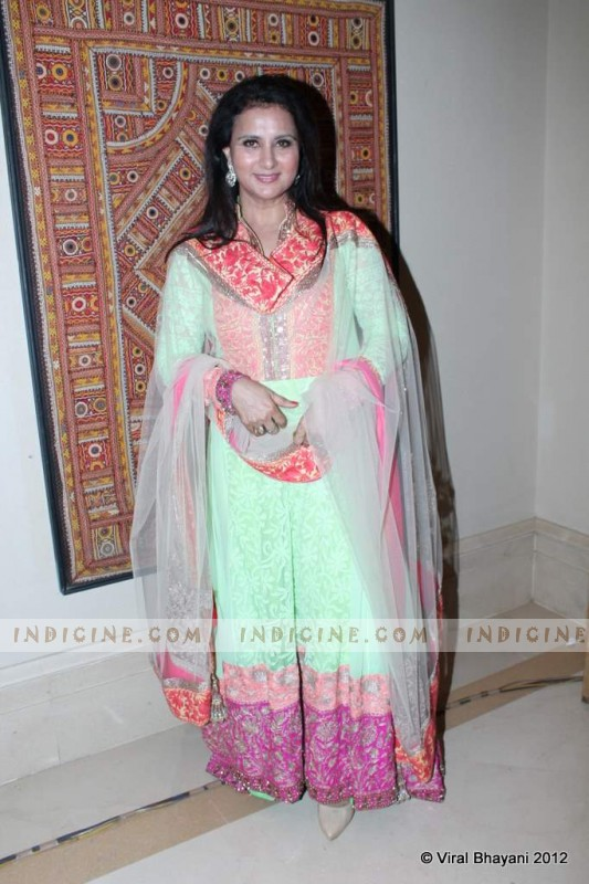 Poonam Dhillon at Manish Malhotra's Lilavati Girl Child show
