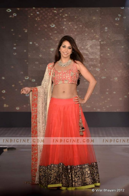 Krishika Lulla walks for Manish Malhotra's Lilavati Girl Child show