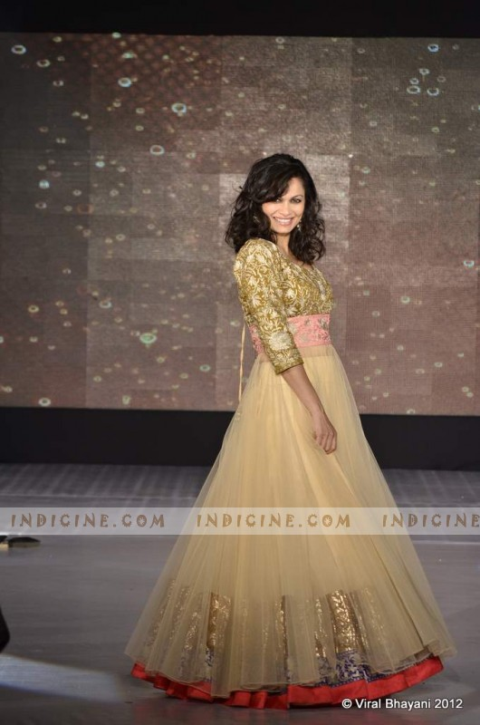 Maria Goretti walk for Manish Malhotra's Lilavati Girl Child show