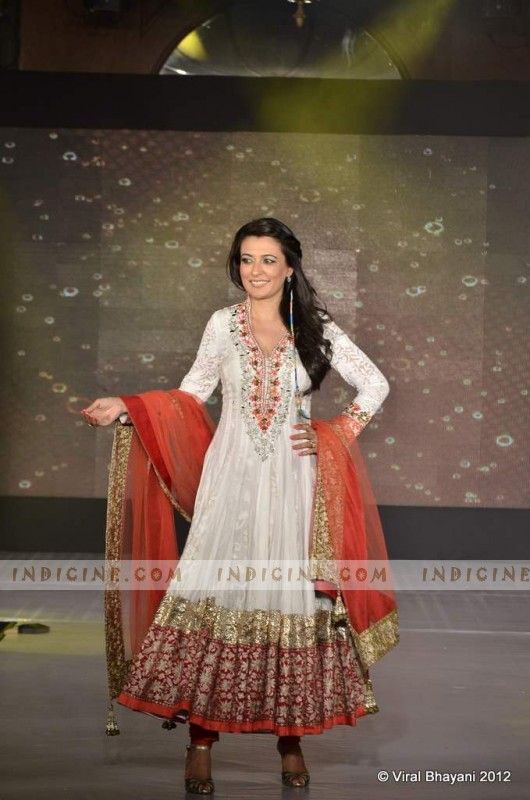 Mini Mathur walk for Manish Malhotra's Lilavati Girl Child show