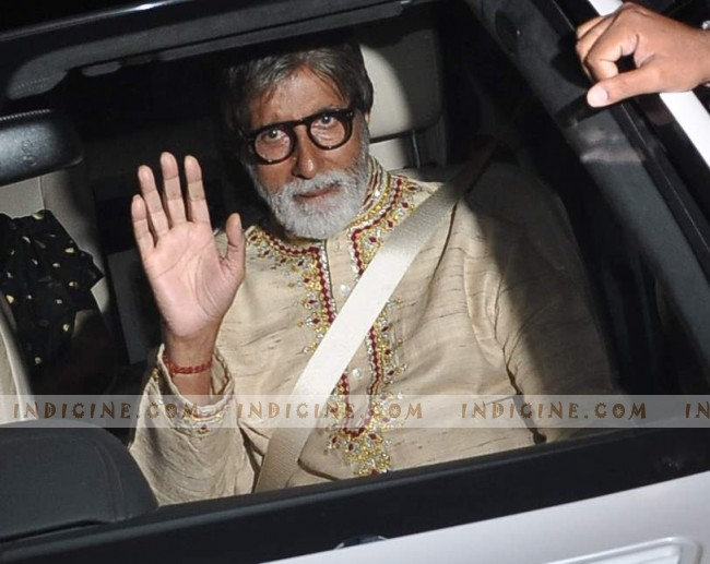 Amitabh Bachchan - Steven Spielberg Bollywood bash