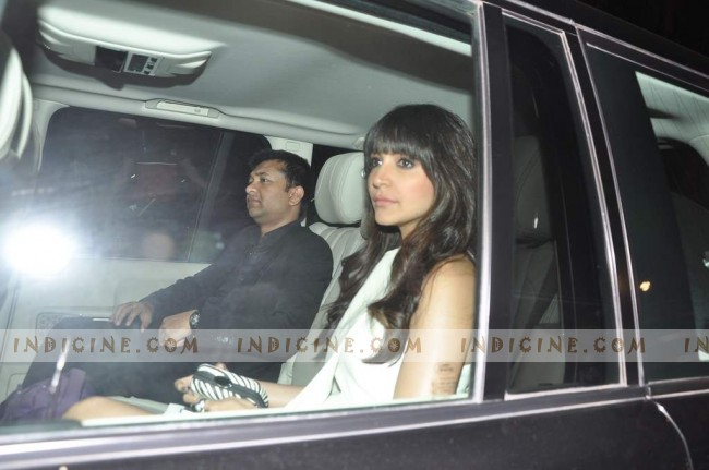 Anushka Sharma - Steven Spielberg Bollywood bash
