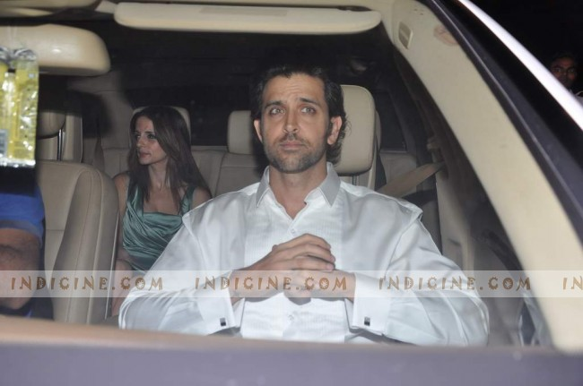 Hrithik Roshan with his wife Suzzane Roshan
