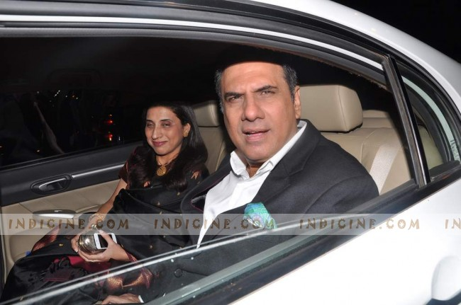 Boman Irani with wife Zenobia