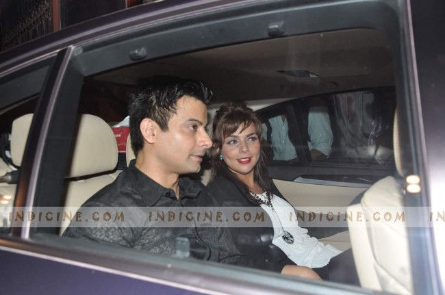Rahul Bhatt at Steven Spielberg Bollywood bash