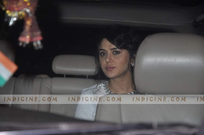 Preity Zinta - Steven Spielberg Bollywood bash