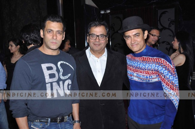 Salman Khan, Subhash Ghai and Aamir Khan