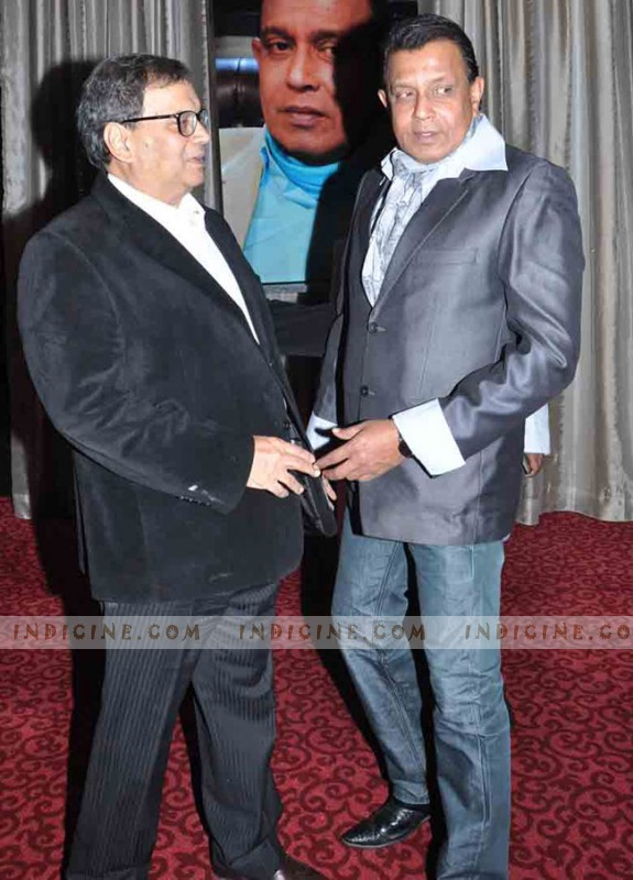Subhash Ghai with Mithun Chakraborty