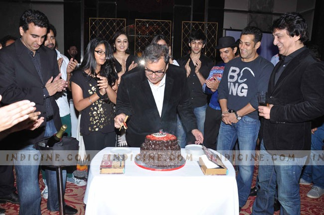Subhash Ghai's birthday bash