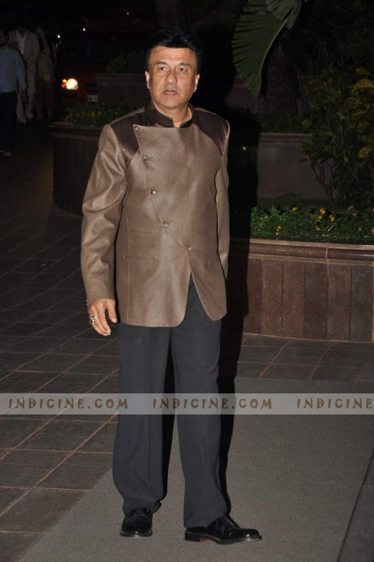 Anu Malik at Sunidhi Chauhan's wedding ceremony