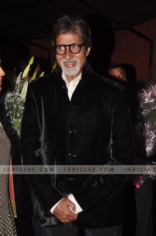 Amitabh Bachchan at The Dirty Picture success party
