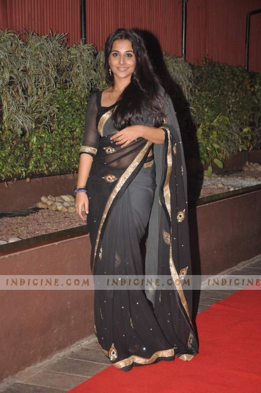 Vidya Balan at The Dirty Picture success party
