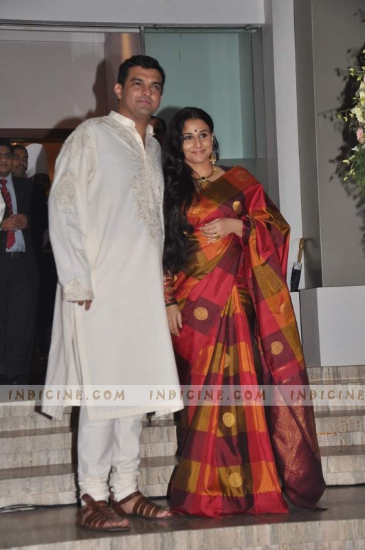 Vidya Balan, Siddharth Roy Kapur at their wedding bash