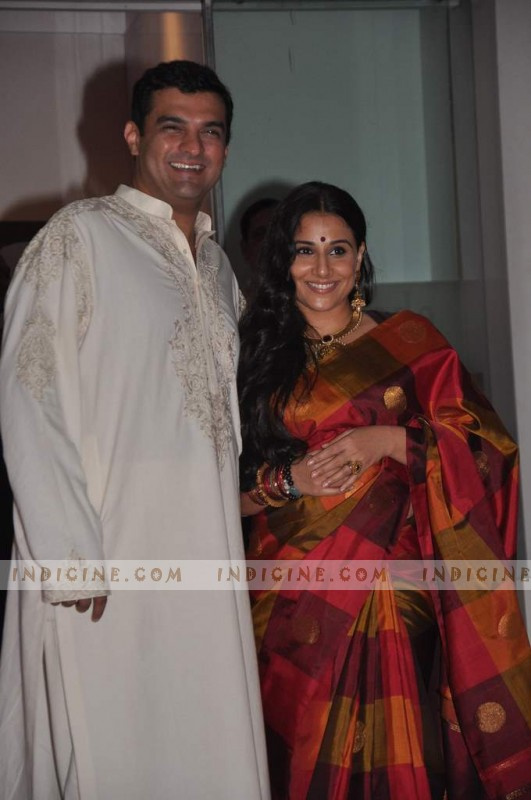 Vidya Balan and Siddharth Roy Kapur's pre-wedding bash