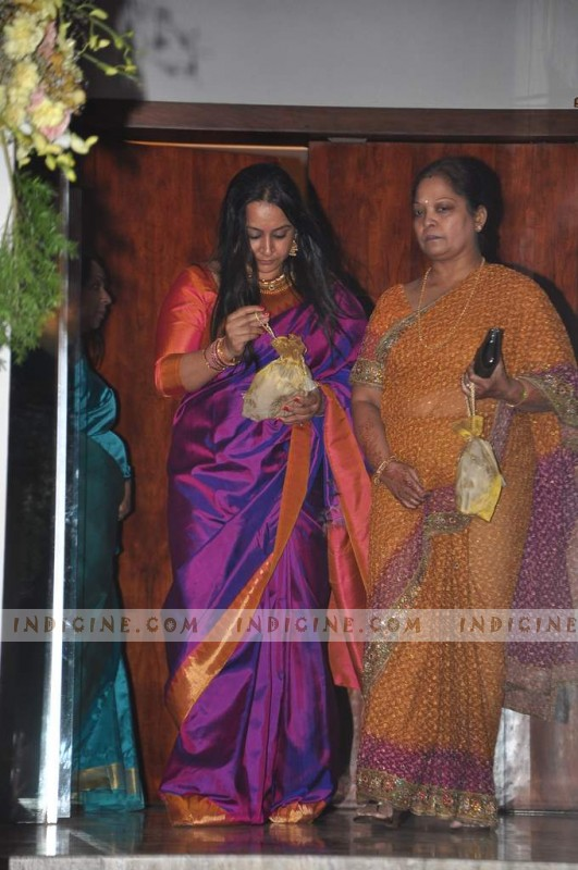 Priya Balan during Vidya and Siddharth Roy Kapur's pre-wedding bash