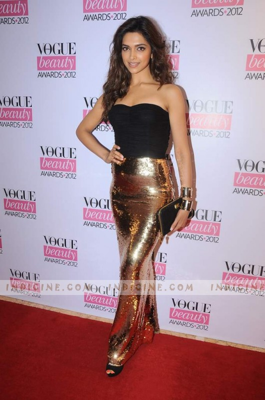 Deepika Padukone at Vogue Beauty Awards 2012