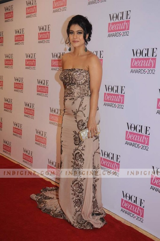 Kajol at Vogue Beauty Awards 2012