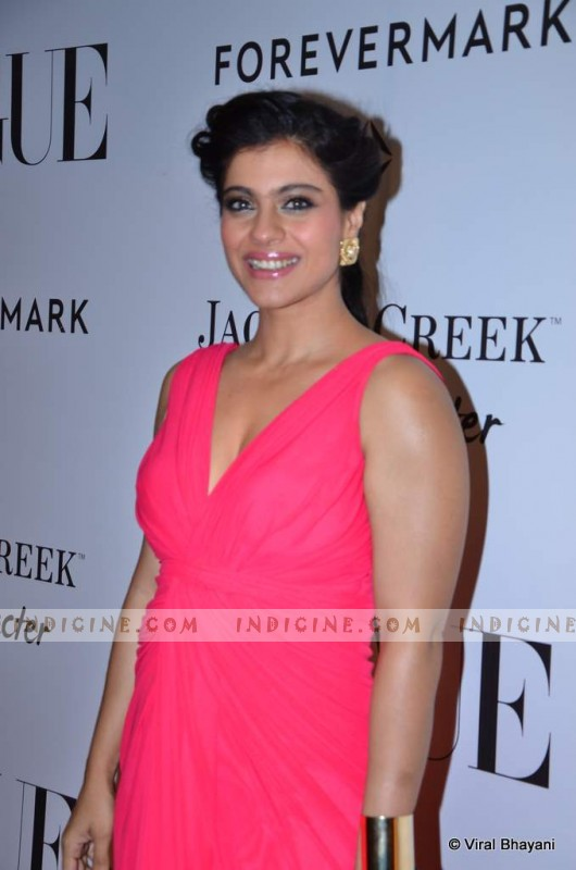 Kajol at Vogue's 5th Anniversary party