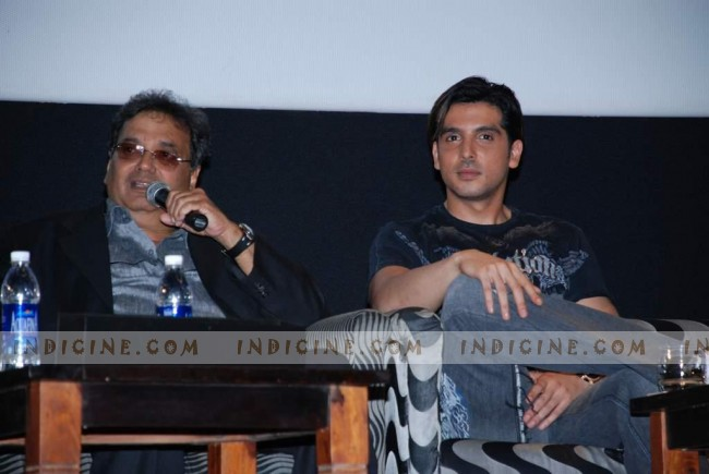 Subhash Ghai - Zayed Khan