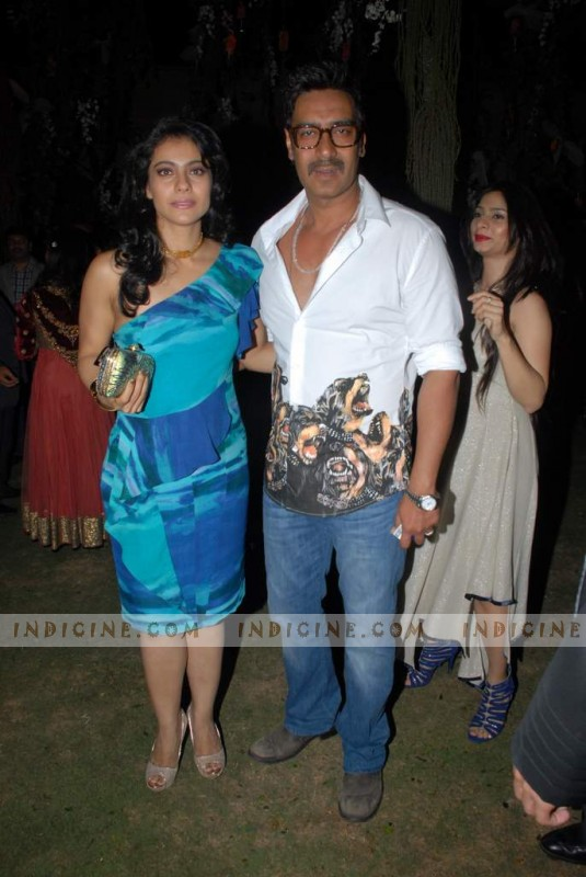 Kajol with husband Ajay Devgan