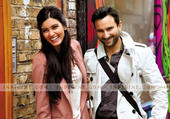 Diana Penty, Saif Ali Khan in Cocktail