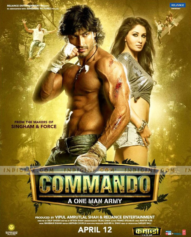 Commando First Look Poster