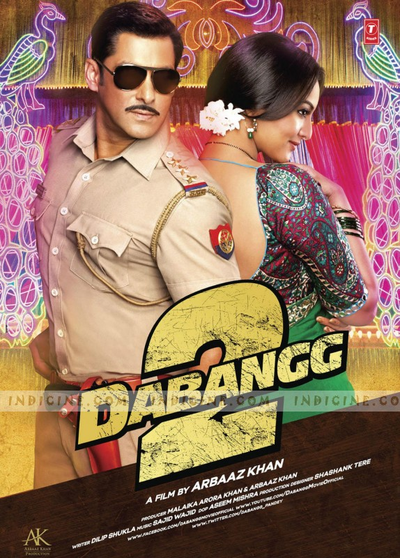 Dabangg 2 Poster