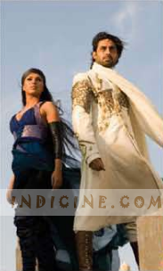 Abhishek and Priynaka in drona