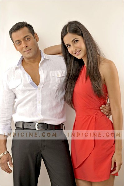 Katrina with Salman Khan in Ek Tha Tiger