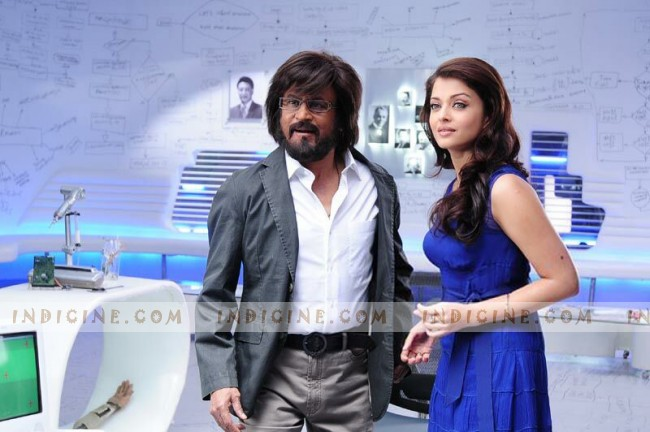 Rajinikanth, Aishwarya Rai - Enthiran - The Robot