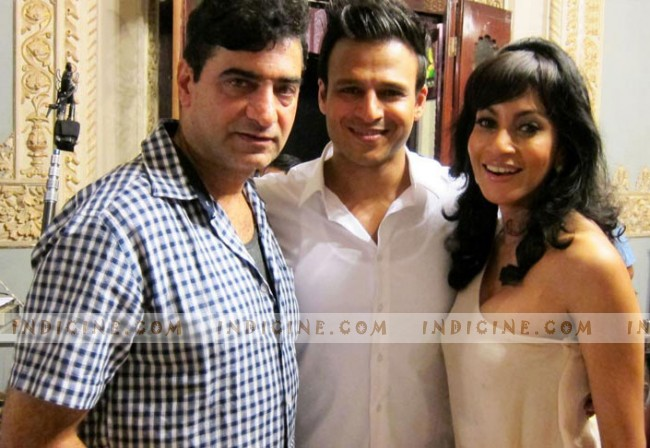 Indra Kumar, Vivek Oberoi and Chandi Perera - Grand Masti