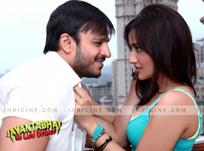 Vivek Oberoi with Neha Sharma