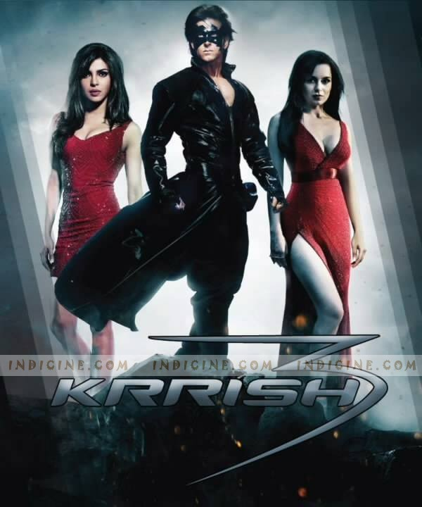 A new poster of Krrish 3 featuring Hrithik Roshan and