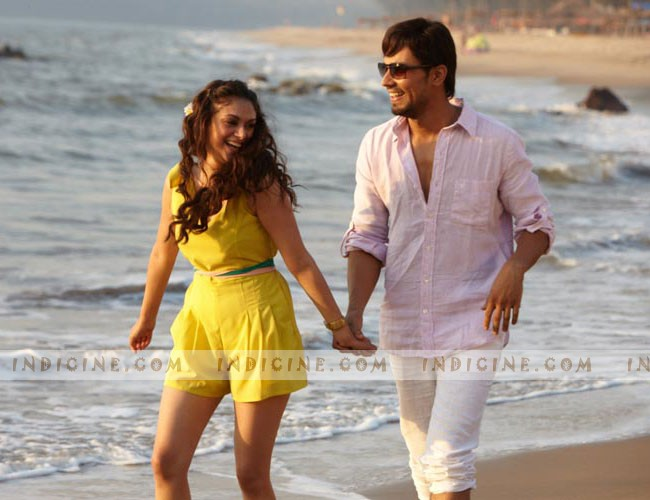 Aditi Rao Hydari with Randeep Hooda