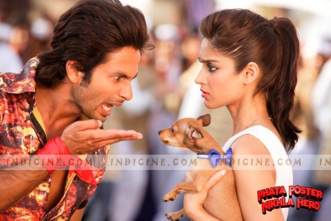Shahid and Ileana - Phata Poster Nikla Hero