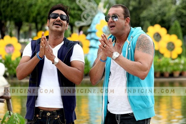 Ajay Devgan, Sanjay Dutt - Rascals
