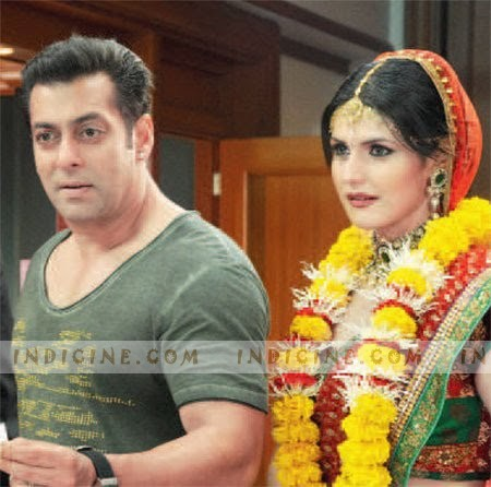 salman khan and zarine khan ready. Salman Khan, Zarine Khan -