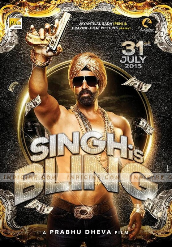 Singh is bling first look akshay kumar prabhu deva film singh is bling first look altavistaventures Image collections