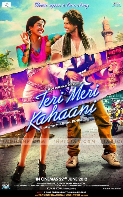 Check out the new poster and a few stills from Teri Meri Kahaani.