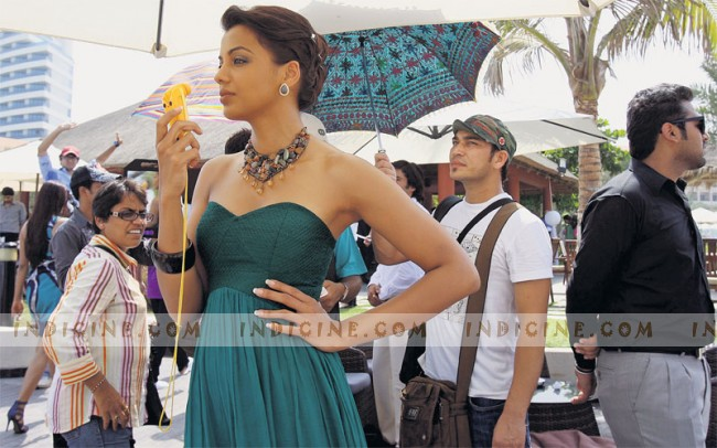 Mugdha Godse on the sets of Will You Marry Me?