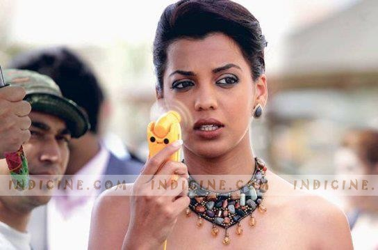 MMugdha Godse on the sets of Will You Marry Me?