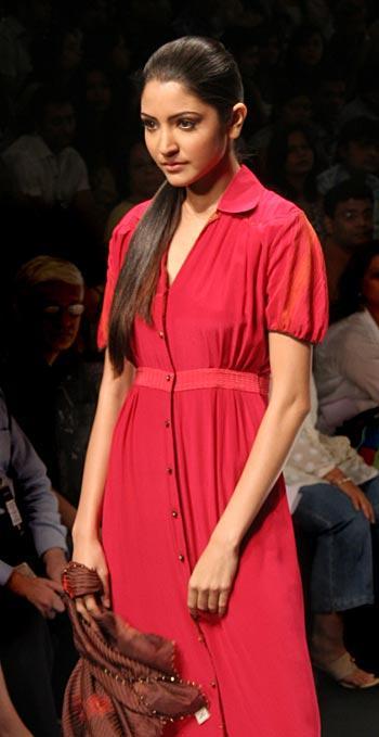 Anushka Sharma in Red