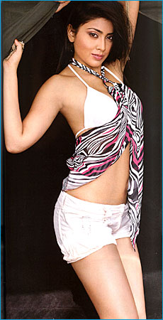 Bikini Pics: Shriya Saran in a White Bikini