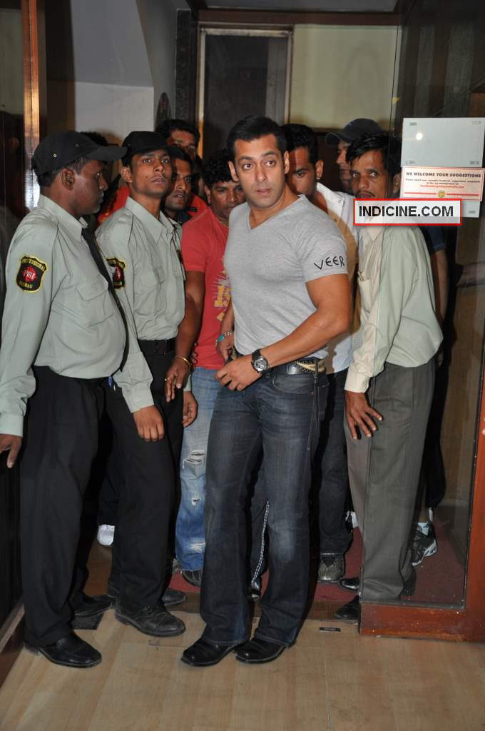 Salman walks in