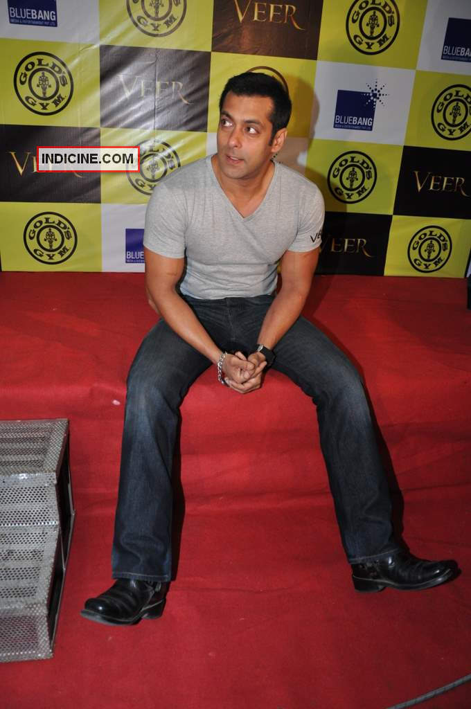 Salman Khan looks tired!