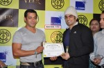 Salman gives away the Veer Strength certificate