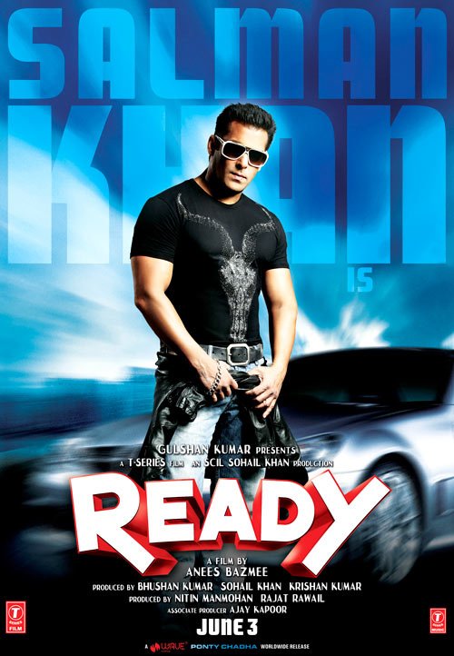 Salman Khan's Ready Latest Poster