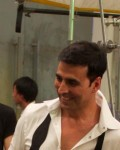 Akshay Kumar at Sure Deodorant New Ad shoot